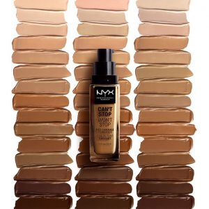 NYX PROFESSIONAL MAKEUP Can't Stop Won't Stop 24 Hour Foundation( 30ml )