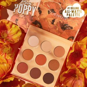 COLOURPOP COSMETICS Big Poppy Shadow Palette