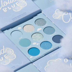 COLOURPOP COSMETICS On Cloud Blue Shadow Palette