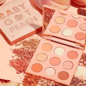 COLOURPOP COSMETICS Baby Got Peach Shadow Palette