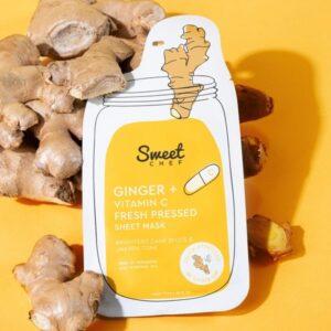 SWEET CHEF Ginger + Vitamin C Fresh Pressed Sheet Mask