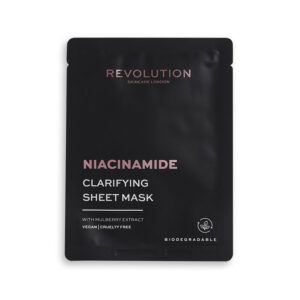 REVOLUTION BEAUTY Skincare Biodegradable Clarifying Niacinamide Sheet Mask