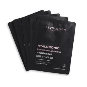 REVOLUTION BEAUTY Skincare Biodegradable Hydrating Hyaluronic Acid Sheet Mask