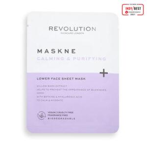 REVOLUTION BEAUTY Skincare Maskcare Maskne Calming & Purifying Lower Face Sheet Mask