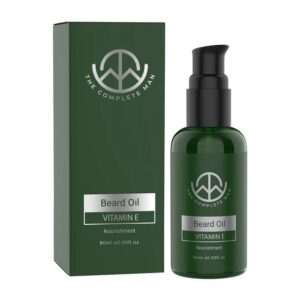 THE COMPLETE MAN Beard Oil with Geranium & Vitamin E